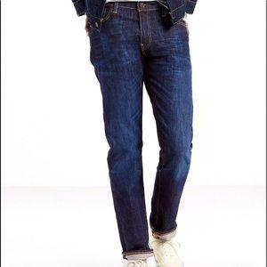 Levi's Men's 504 Straight Fit Jeans